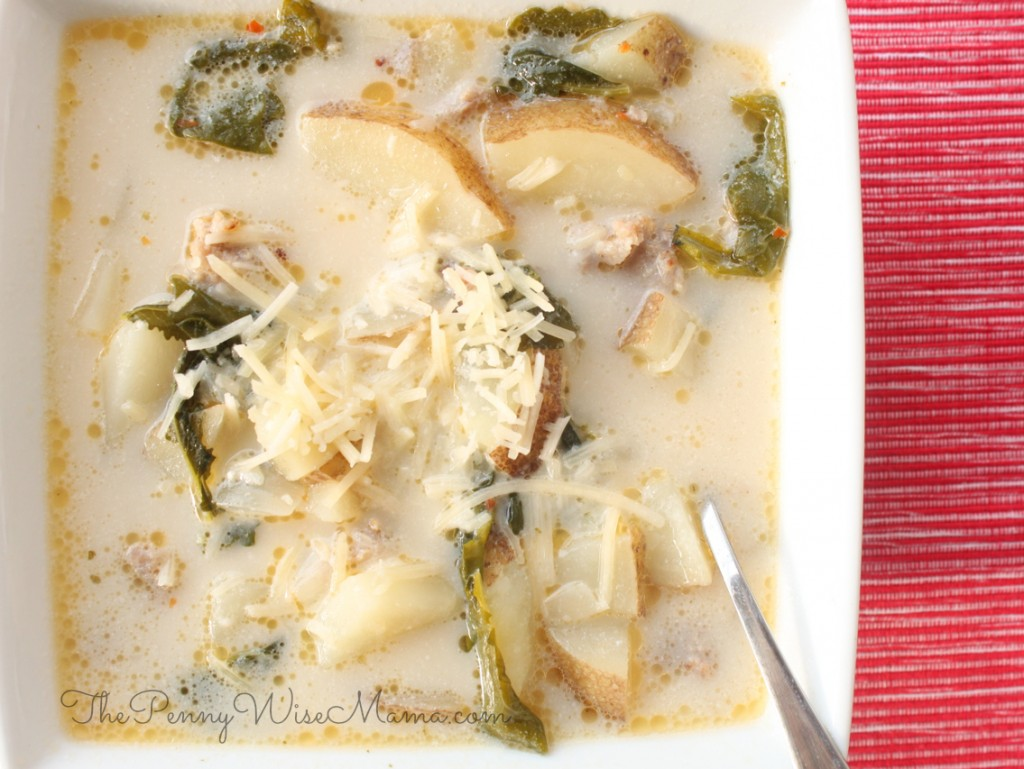 Olive Garden Zuppa Toscana Soup Recipe The Pennywisemama