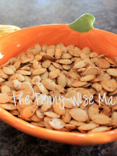 Sea Salt & Chipotle Pepper Roasted Pumpkin Seeds Recipe