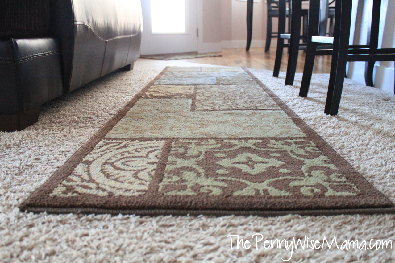Making a rug out of carpet - Save