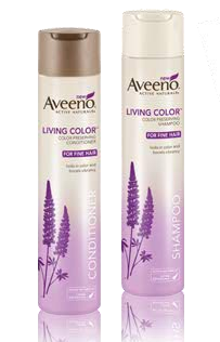 FREE Aveeno Living Color Shampoo & Conditioner Samples