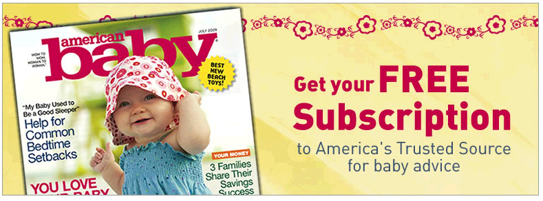 Free American Baby Or Baby Talk Magazine Subscription