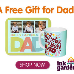 Ink Garden: FREE Coffee Mug, Mouse Pad, or Notebook for Father's Day! (Just Pay Shipping)