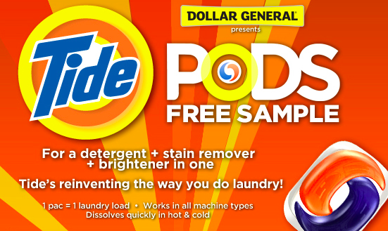 free tide pods sample new link the pennywisemama