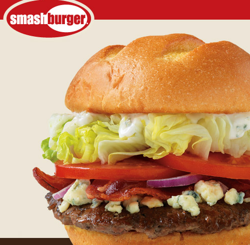 image regarding Smashburger Printable Coupon titled Smashburger: Free of charge Entree With Acquire Coupon - The