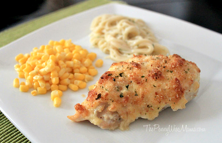 Easy Parmesan Crusted Chicken - yummy 20 minute dinner recipe