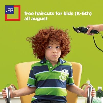 jcpenney free haircuts free haircuts for at jcpenney in august the 2655 | photo1