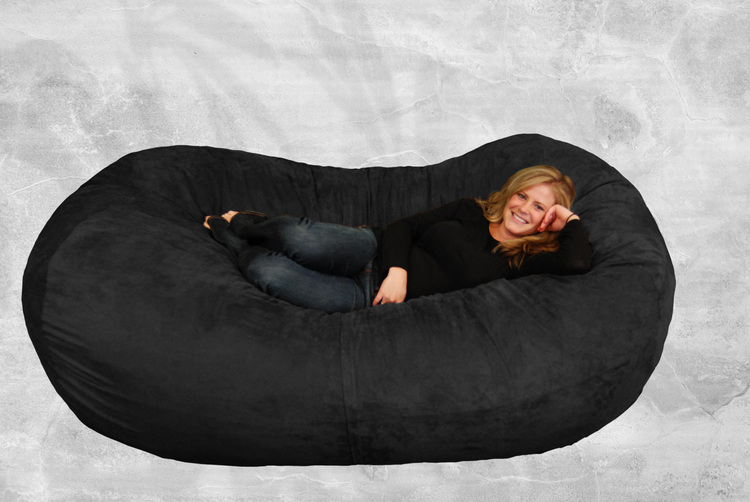 comfy sacks 7 ft lounger