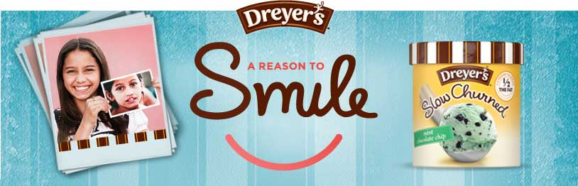 dreyers a reason to smile