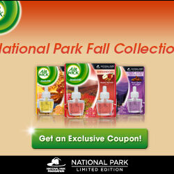 Air Wick: $2 off National Park Fall Collection Coupon