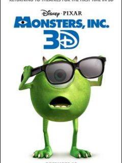 monsters, inc 3D
