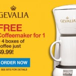 Gevalia: Coffeemaker & 4 Boxes of Coffee Shipped for Only $9.99!