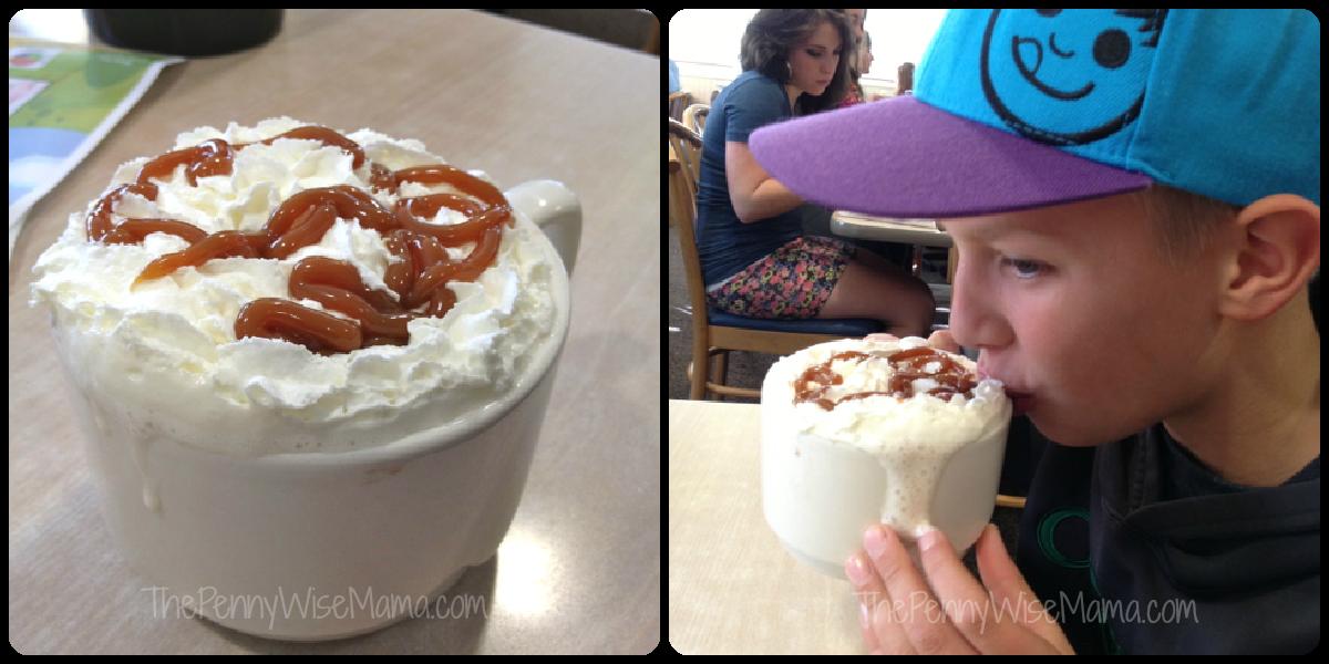 ihop caramel hot chocolate