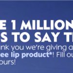 Free Nivea Lip Product Coupon!