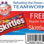 Free Bag of Skittles Coupon