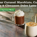 Starbucks: $1 off Caramel Macchiato, Cafe Mocha, or Cinnamon Dolce Latte