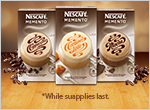 nescafe memento sample