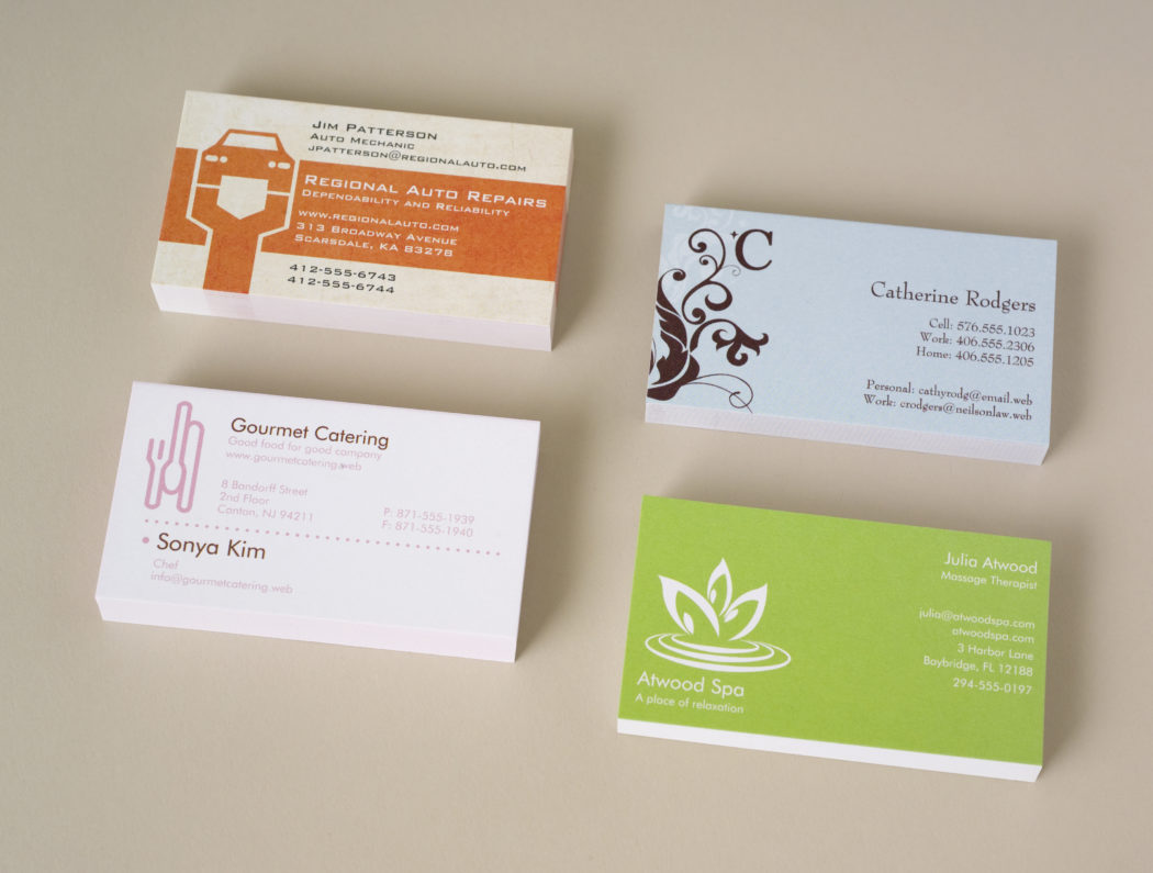 Vistaprint Business Cards Template