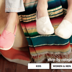 TOMS Shoe Sale on Zulily + Promo Code!