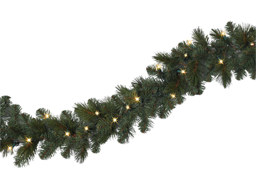 Treetopia Lit Pine Garland Review - The PennyWiseMama