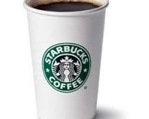 free starbucks house blend coffee