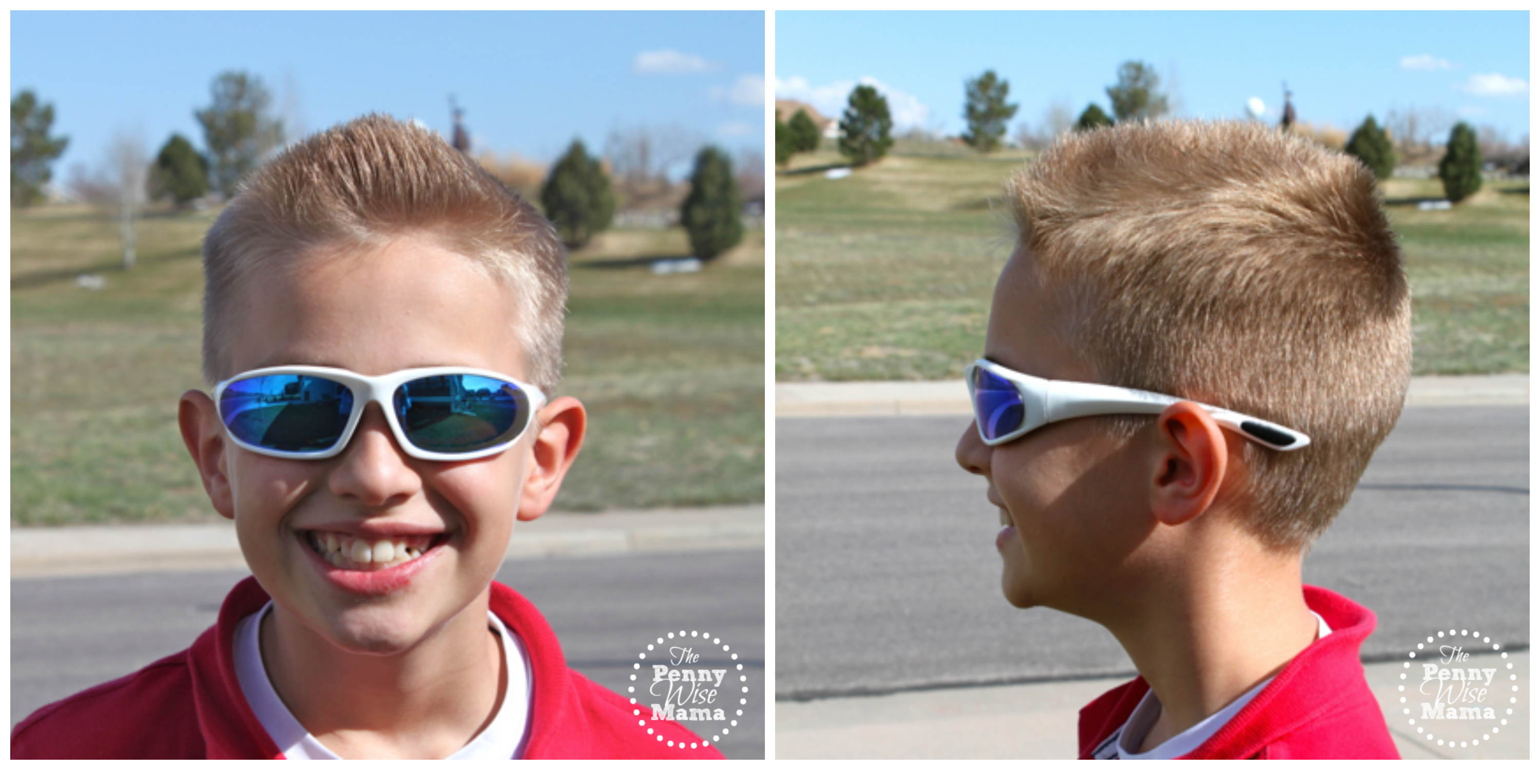 Stylish Sun Protection With Real Kids Shades Giveaway The Screen Toddler 2 Orange Xtreme Chill Sunglasses