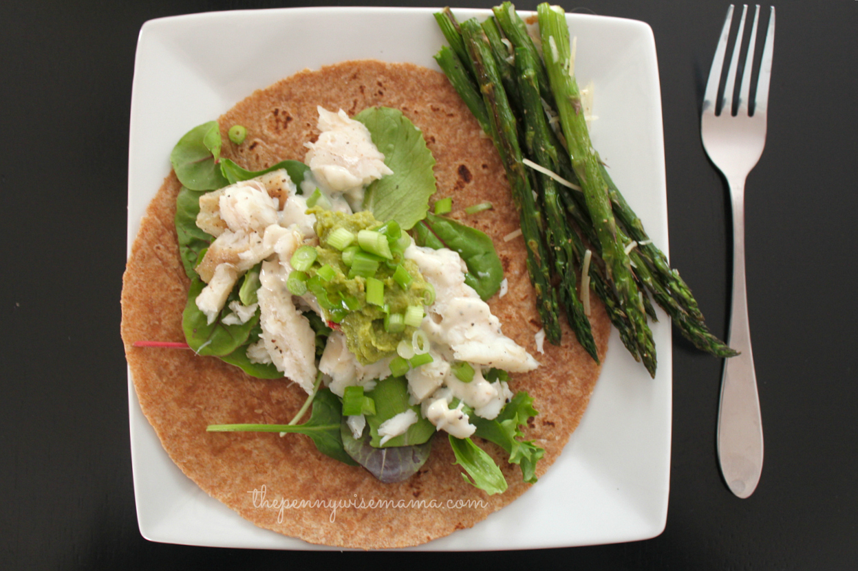 Quick & Easy Baja-Style Fish Tacos - The PennyWiseMama