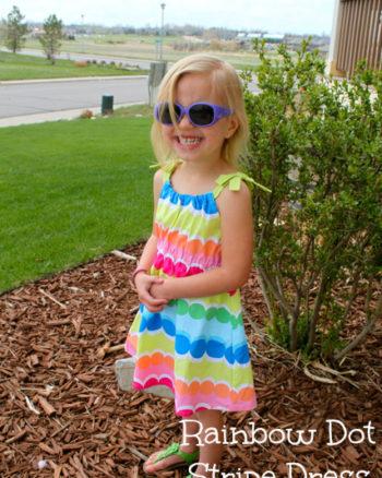 gymboree dot stripe dress