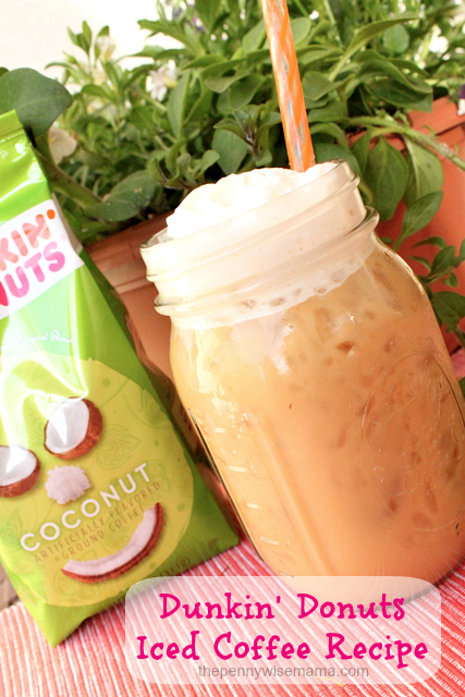 Do you love iced coffee? Try the Dunkin' Donuts Iced Coffee Recipe ...
