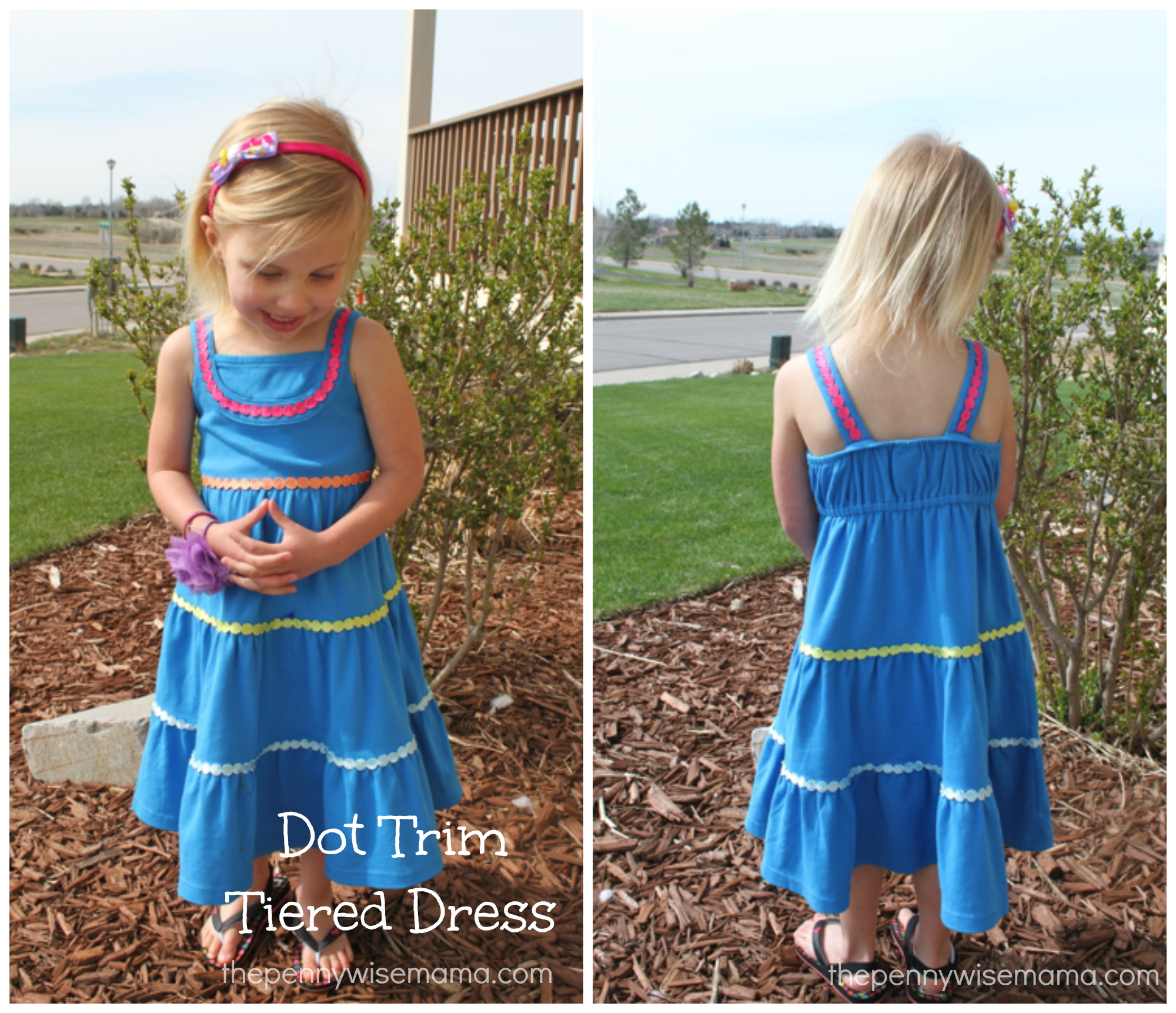 gymboree dot tiered dress