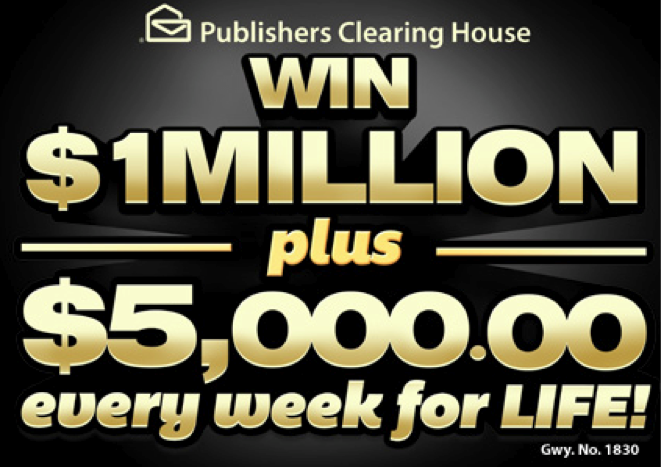 1 million sweepstakes