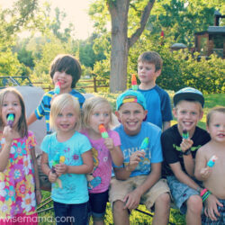 Summer Birthday Party Fun with Bomb Pop