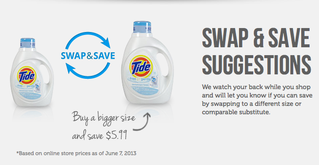 mysupermarket swap & save