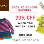 Tea Collection: Save 20% During Back to School Sale