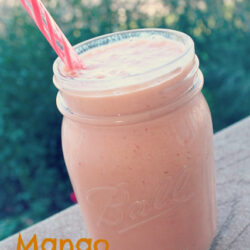 All About Mangos + Mango Strawberry Smoothie Recipe