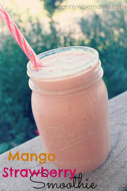 Mango Strawberry Smoothie Recipe