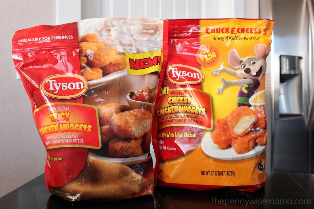 Spicy Chicken Wraps with Tyson Chicken