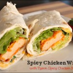 Spicy Chicken Wraps with Tyson Chicken Nuggets
