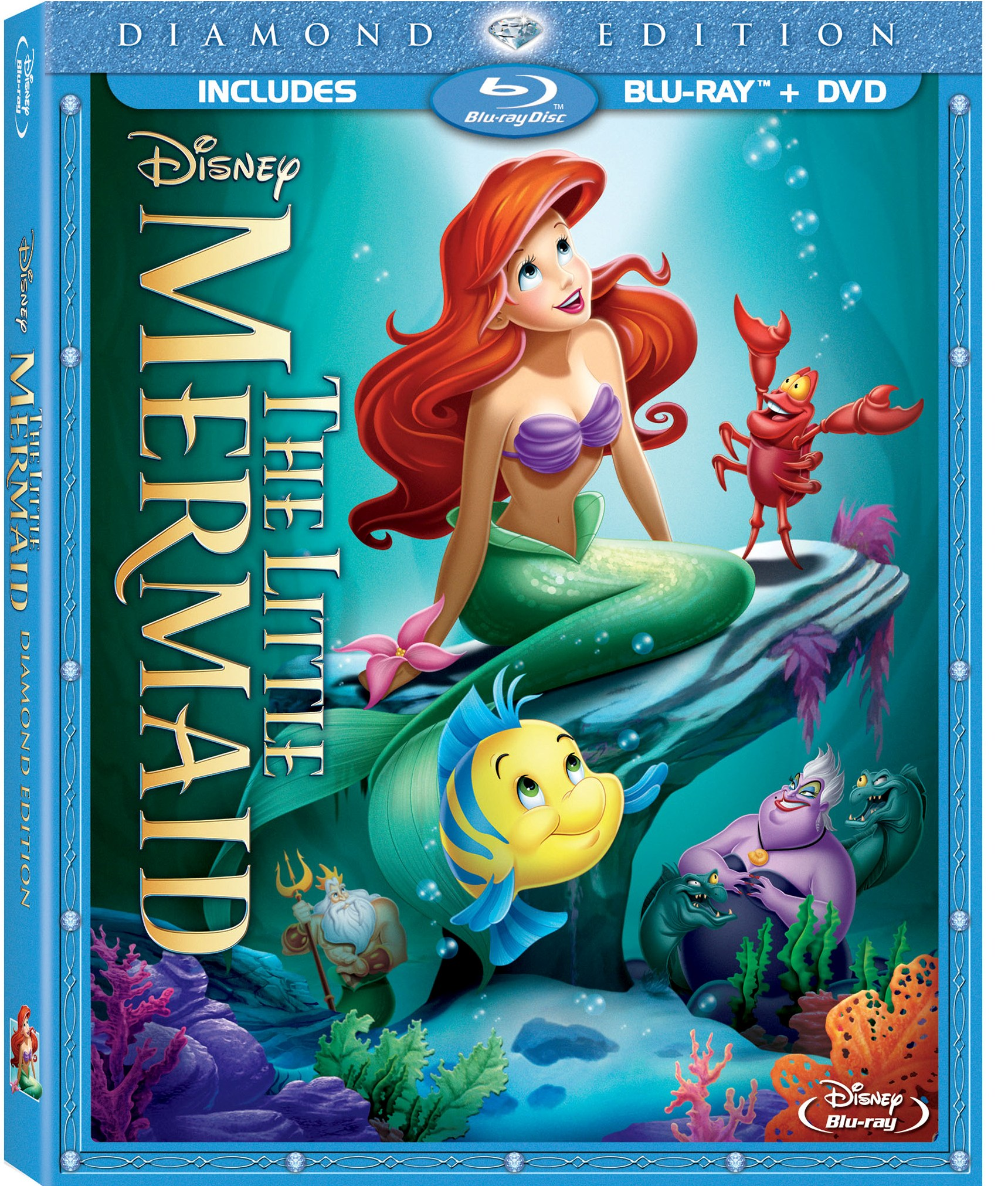 Splashes its ways into homes for the very first time in blu ray hi