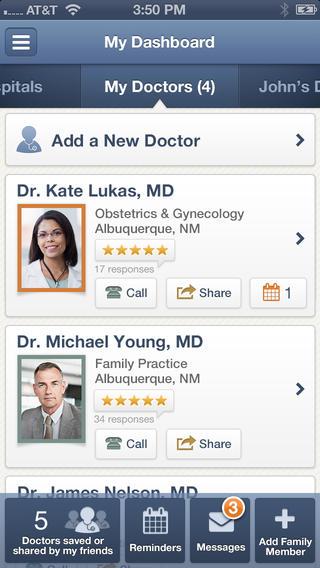 healthgrades app