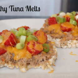 Healthy Tuna Melts with Chicken of the Sea To Go Cups + Giveaway