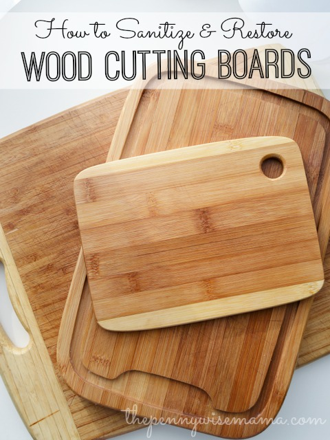 How To Re Wood Cutting Boards