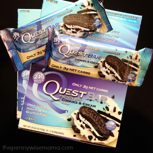 Quest Nutrition Cookies & Cream Bar
