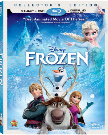 FROZEN Blu-ray DVD Combo Pack