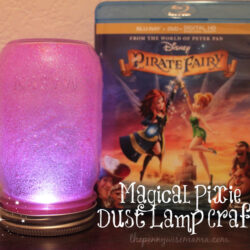 The Pirate Fairy Magical Pixie Dust Lamp Craft