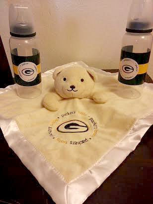 Baby Fanatic Packers Blanket