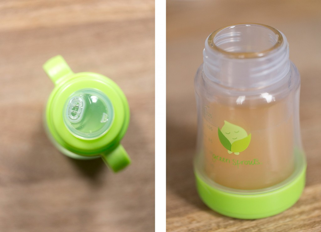 Green Sprouts Glass Cup