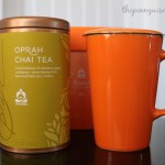 Celebrating Mother's Day with Starbucks Teavana Oprah Chai Tea