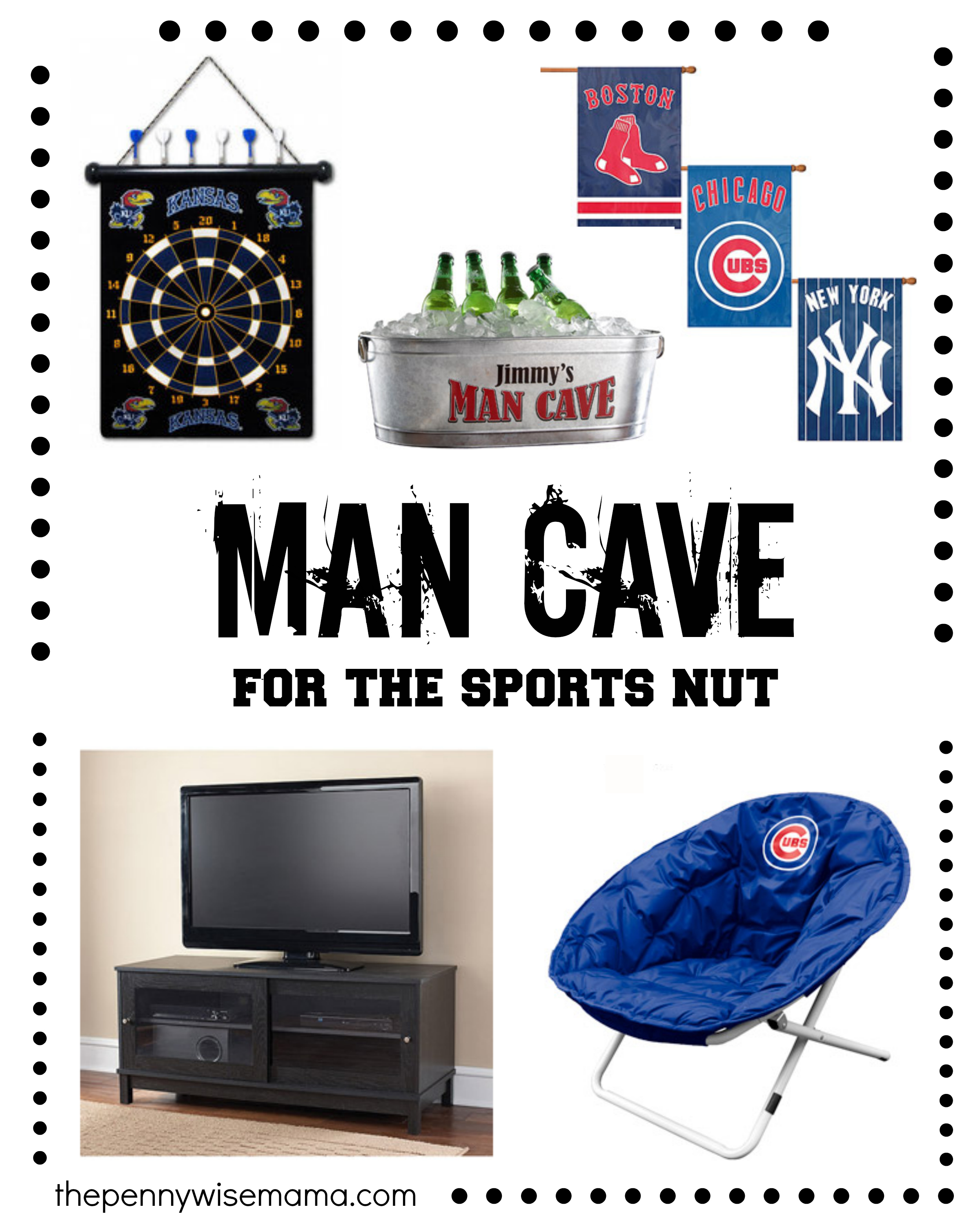 Man Cave Sports Gifts : A man cave the perfect father s day gift pennywisemama