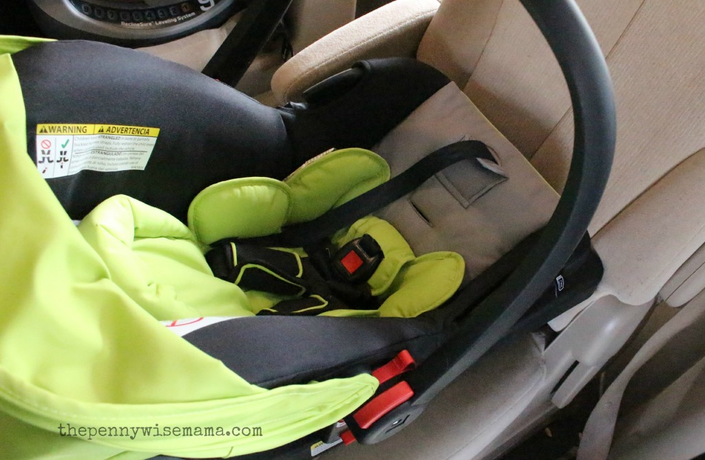 urbini touri petal car seat