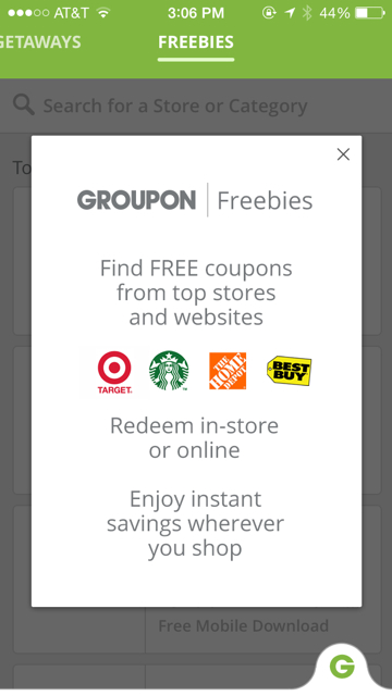 Coupon apps like groupon - Mydealz de freebies